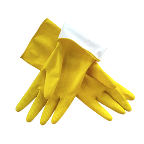 HAPPY HOME Household Gloves • Latex - Resistant water/oi Code: HH-FLG