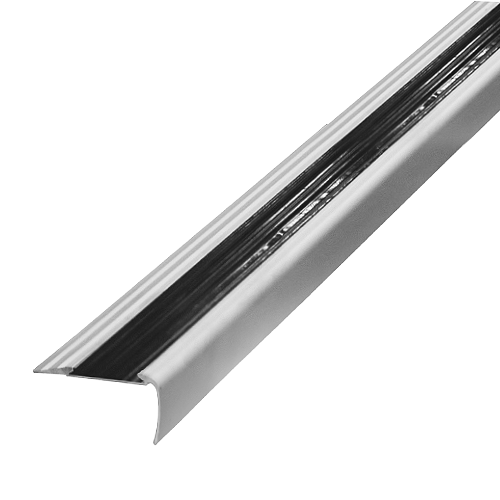 MASTER Step Trims • Aluminum • Matte silver • 2.5m Code: CJ-6 Also available: Matte gold