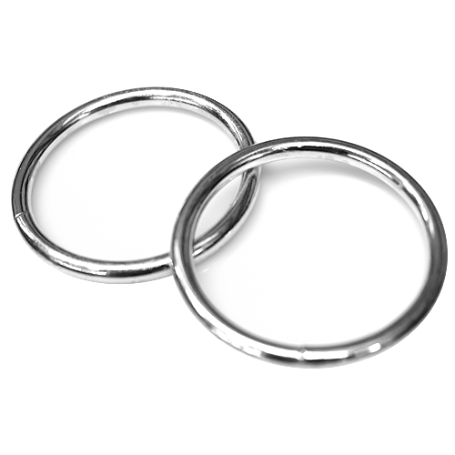 LINK Welded Round Ring • 4 x 40mm • Steel electric galvanized Code: DR-Z0037