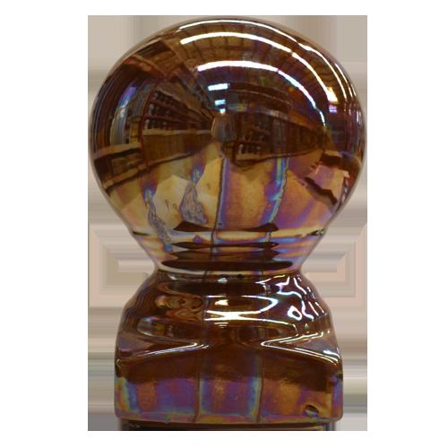Description: Head Pole Material: Ceramic Color: Brown Code: Pearl  Also available: Pearl White