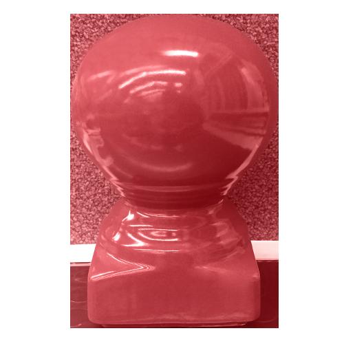 Description: Head Pole Material: Ceramic Color: Red Code: Moon