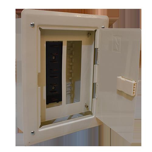 KOTEN Panel Board  •  Plug in type side main recessed Available in:  - PBEE 4BR plug - PBEE 6BR plug