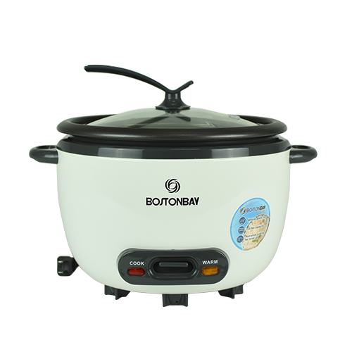 BOSTON BAY • Automatic Cooking • 3 -in 1 warmer steamer -soup 1.8 L/10 cups capacity Code: RCBH-1219
