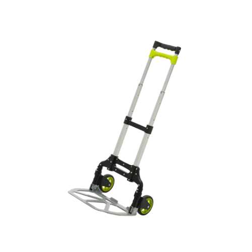 TOP LIFT  Foldable Trolley • 70kg Load Capacity • Single Hand Folding Function • TPR Handle for Extra Grip • Aluminium Frame & Toeplate • Weight: 3kg Code: TTEF1119-AFT70