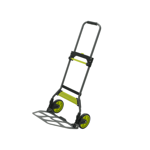 TOP LIFT  Foldable Trolley • LIGHT DUTY 100KG LOAD CAPACITY • FOLDS FLAT FOR EASY STORAGE • STEEL FRAME • Weight: 5.5kg Code: TTEF1119-AFT100 MD