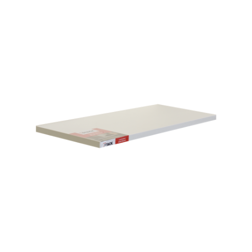 STACK White Shelf Laminated Board • 254 X 610MM • floating rectangle shelves • easy to install Code: 1090100590340