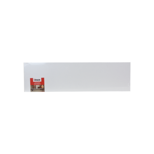 STACK White Shelf Laminated Board • 254 X 914MM • floating rectangle shelves • easy to install Code: 1090100590364