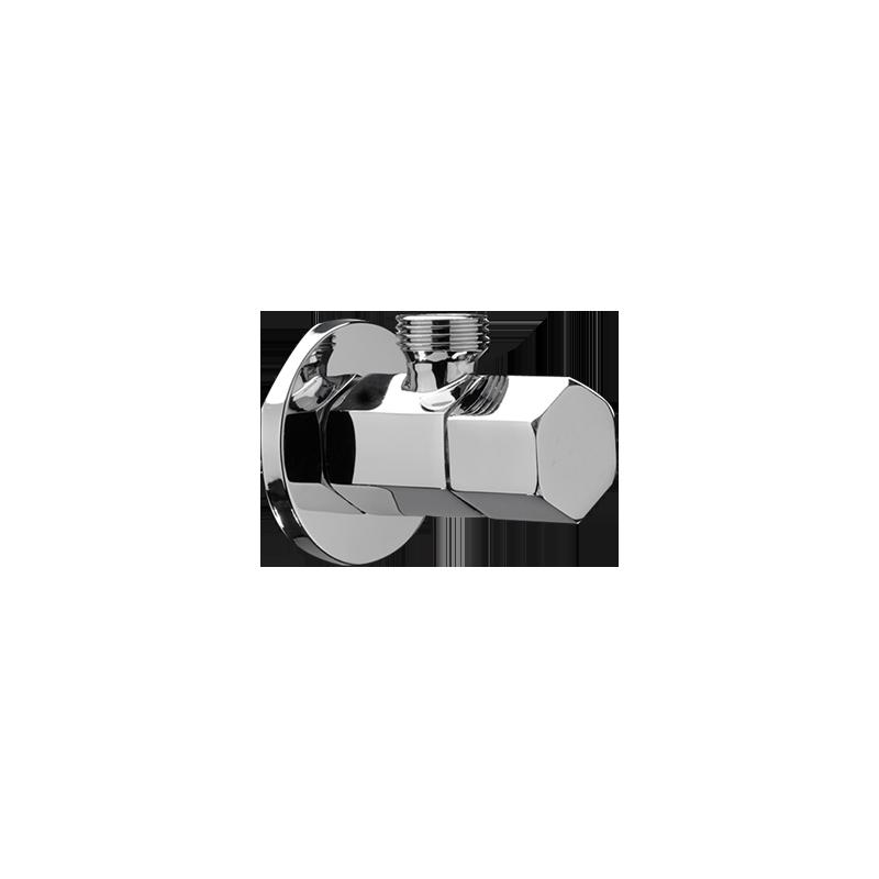 "LA FONZA Angle Valve • Brass • 2-way • 20 mm (1/2"""") Code: 8102273A"