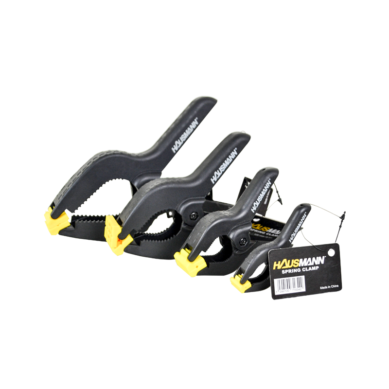 """HAUSMANN SPRING CLAMP CH720 Series • HEAVY DUTY PLASTIC  • AVAILABLE SIZE: 3"""" ,4"""" , 6"""", 9"""""""